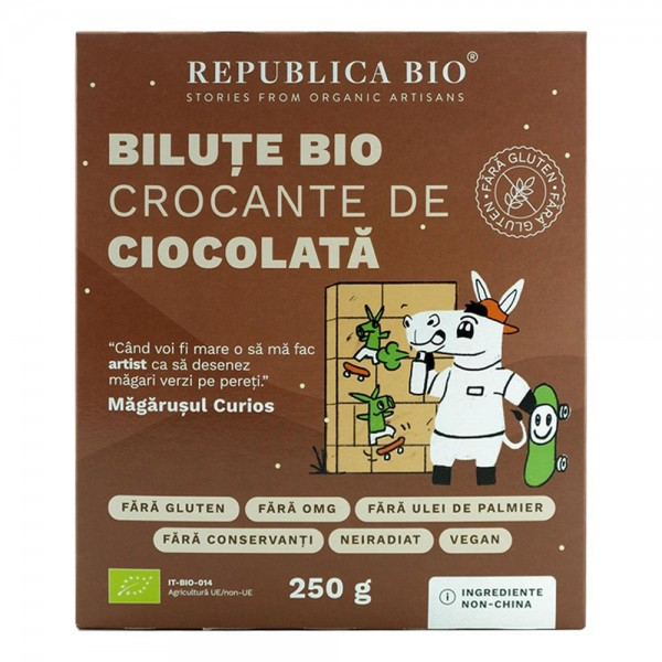 Bilute crocante de ciocolata FARA GLUTEN bio