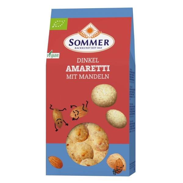 Biscuiti Amaretti din faina de spelta bio