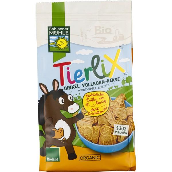 Biscuiti animalute din spelta integrala indulciti cu miere bio