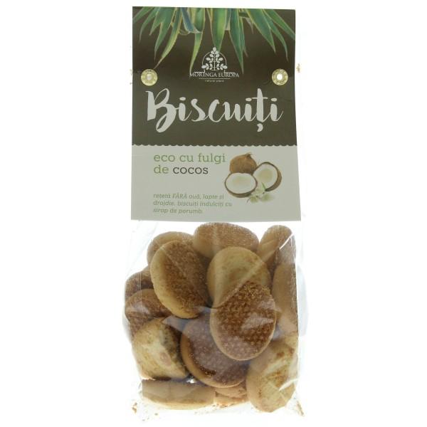 Biscuiti cu fulgi de cocos bio
