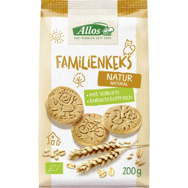 Biscuiti pentru toata familia bio