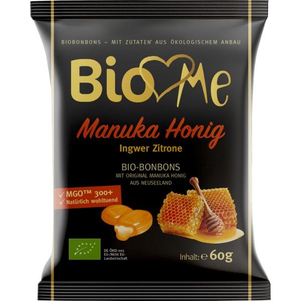 Bomboane cu miere de Manuka si ghimbir bio