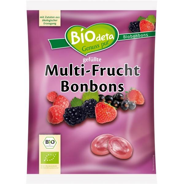 Bomboane cu fructe de padure bio