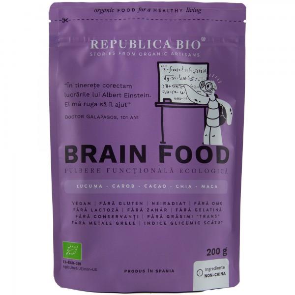 Brain Food, pulbere functionala bio