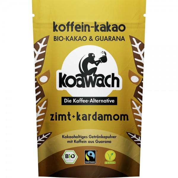 Cacao cu guarana, scortisoara si cardamom bio