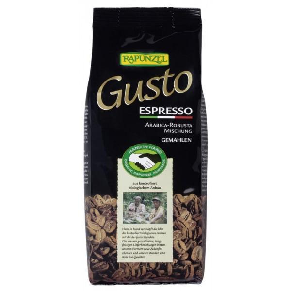 Cafea Gusto Espresso macinata bio