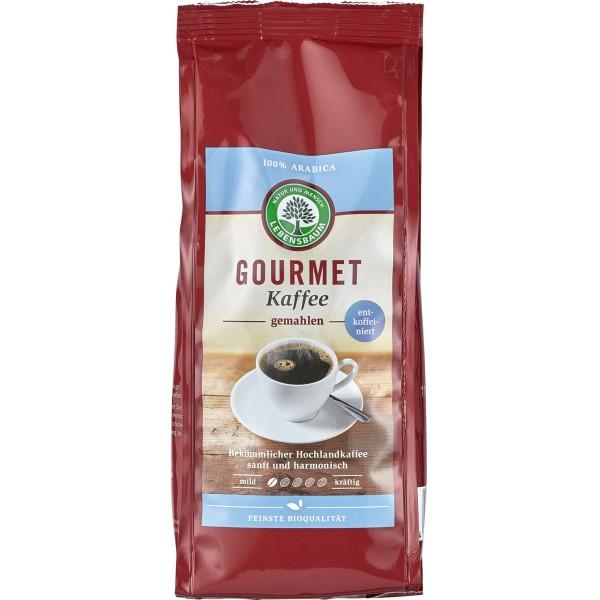 Cafea macinata Gourmet decofeinizat bio