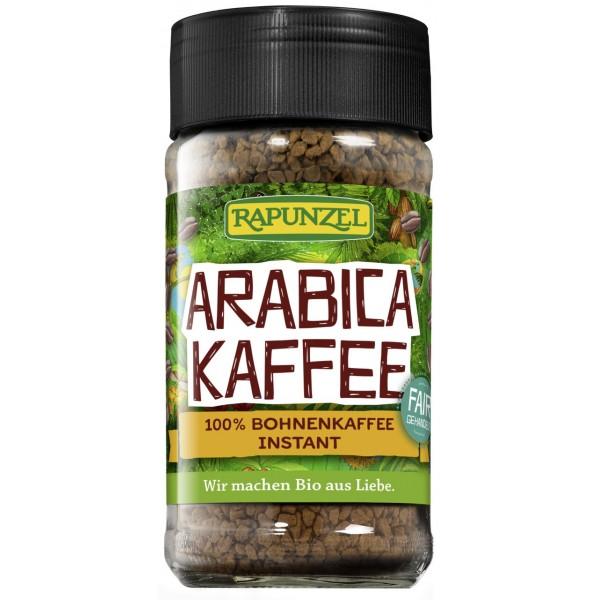 Cafea instant Arabica bio