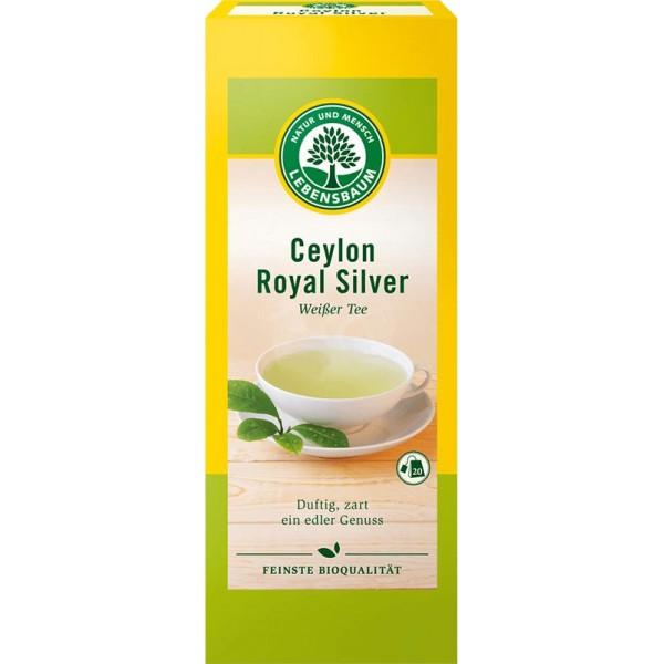 Ceai alb Ceylon Royal Silver x20 plicuri bio
