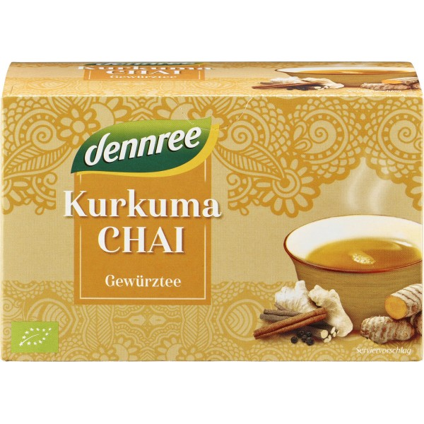 Ceai Curcuma Chai 20 plicuri bio