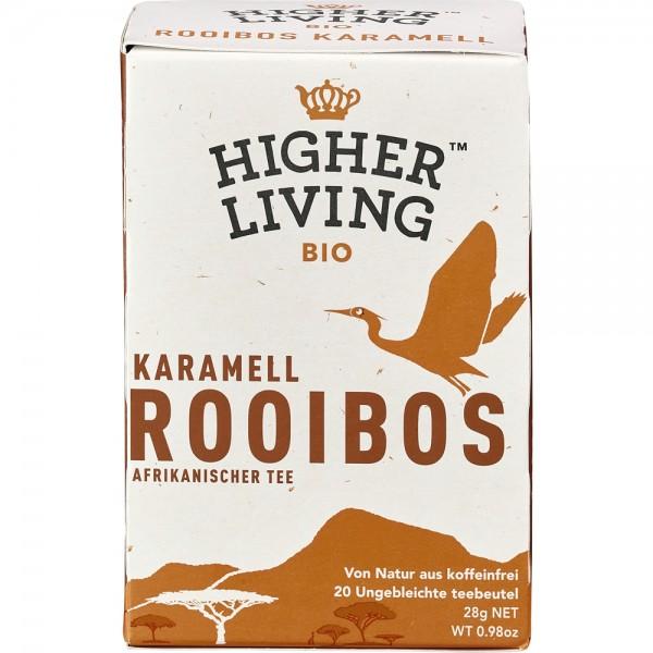 Ceai Rooibos caramel 20 plicuri bio