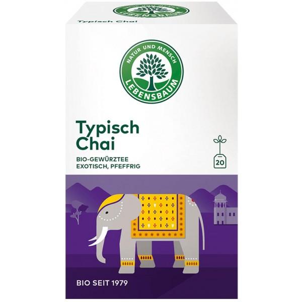 Ceai tipic Chai x20 plicuri bio