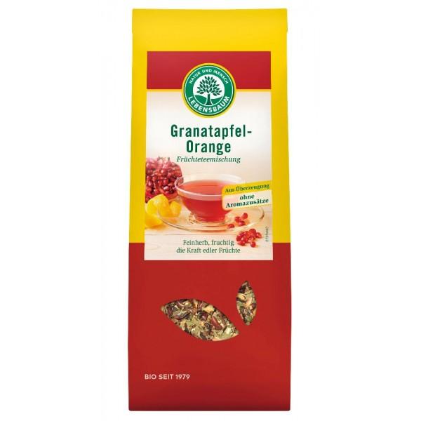 Ceai cu rodie si portocala bio
