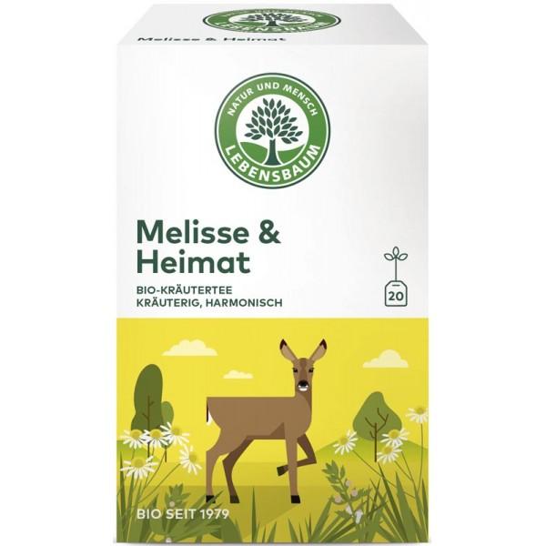 Ceai de Melisa & Acasa x20 plicuri bio