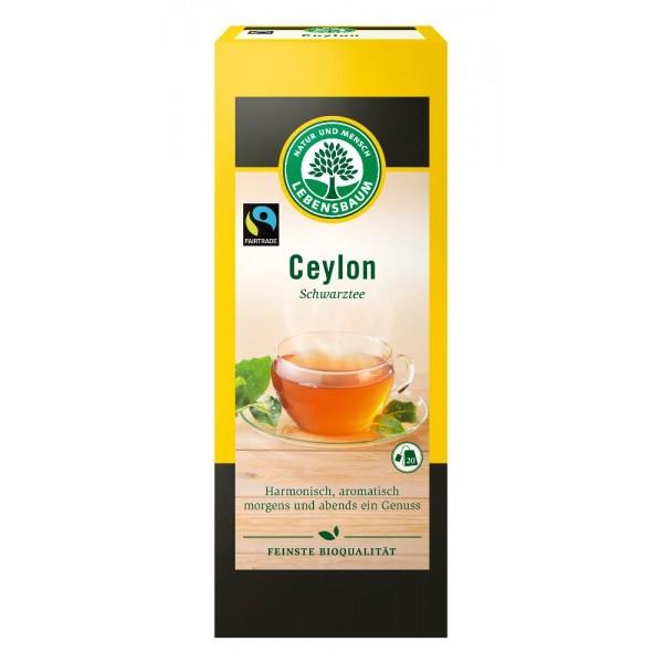 Ceai negru Ceylon bio