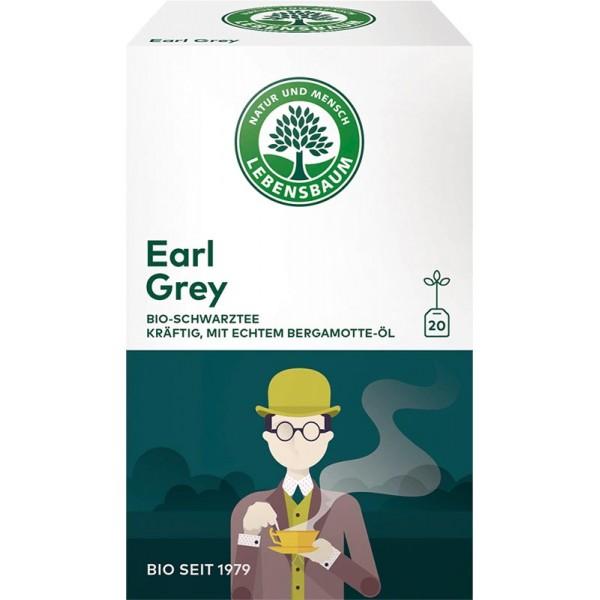 Ceai negru Earl Grey x20 plicuri bio