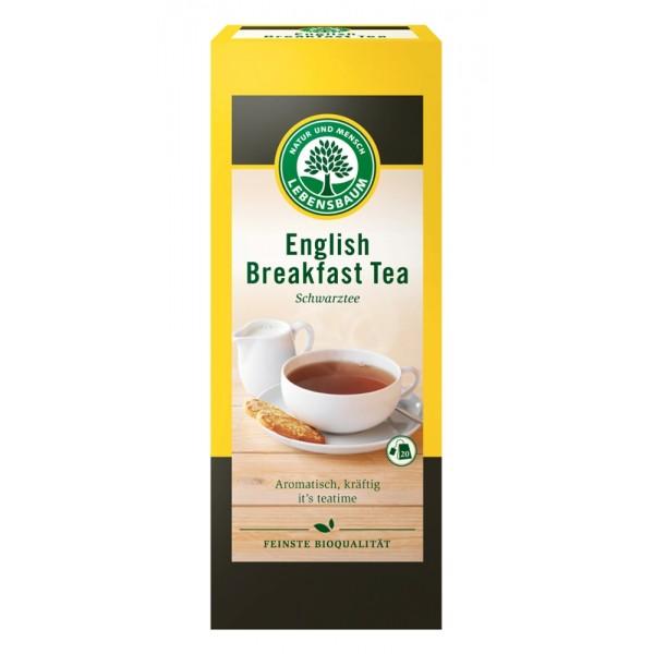 Ceai negru Englezesc pentru micul dejun x20 plicuri bio