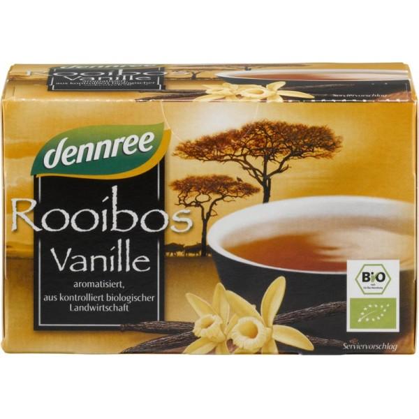 Ceai Rooibos cu vanilie x 20 plicuri bio