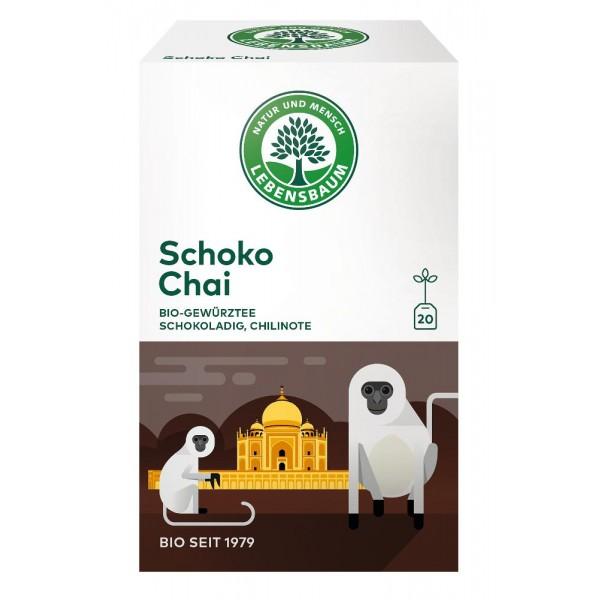 Ceai Schoko Chai x20 plicuri bio