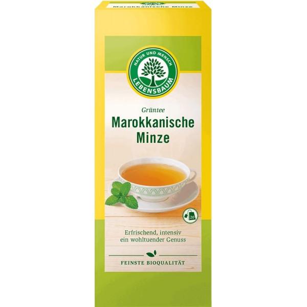 Ceai verde cu menta Marocana x20 plicuri bio