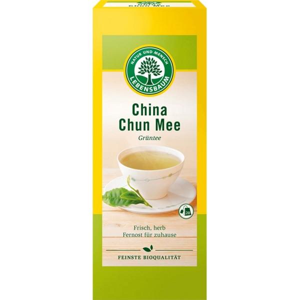 Ceai verde China Chun Mee 20x plicuri bio