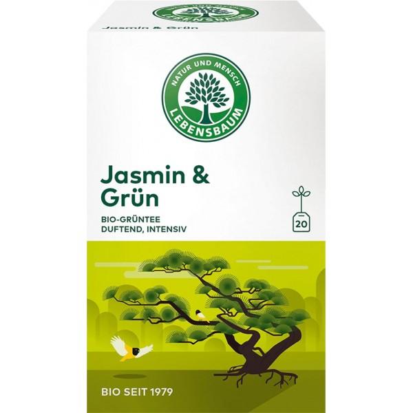 Ceai verde Jasmin bio