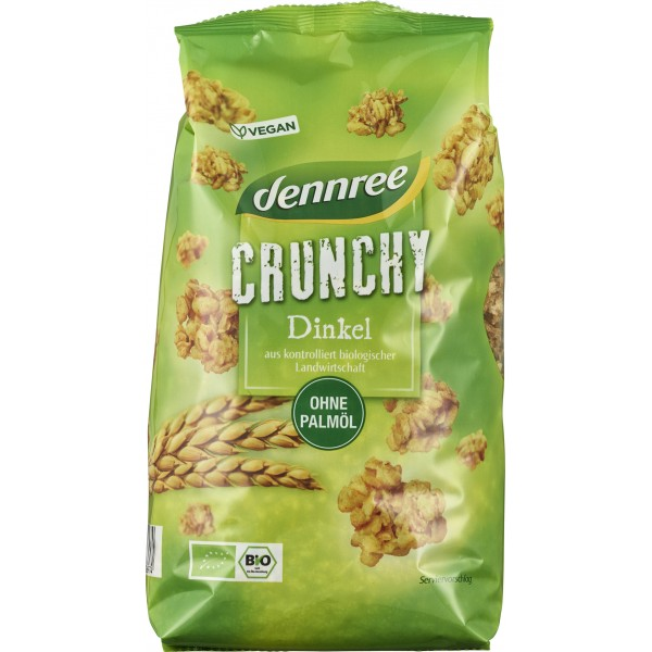 Cereale crocante din spelta bio