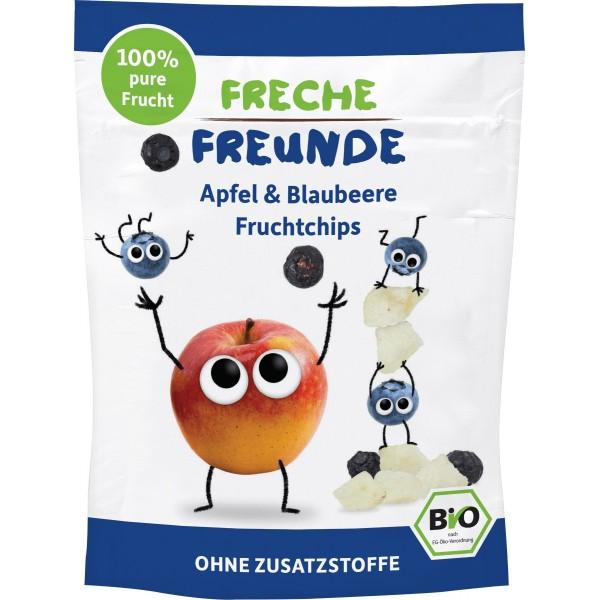 Chipsuri de mere si afine pentru copii bio