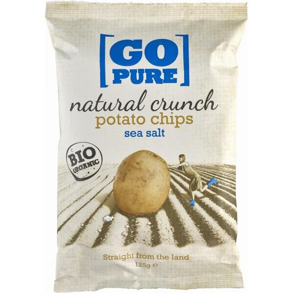 Chipsuri din cartofi cu sare coapte manual FARA GLUTEN bio