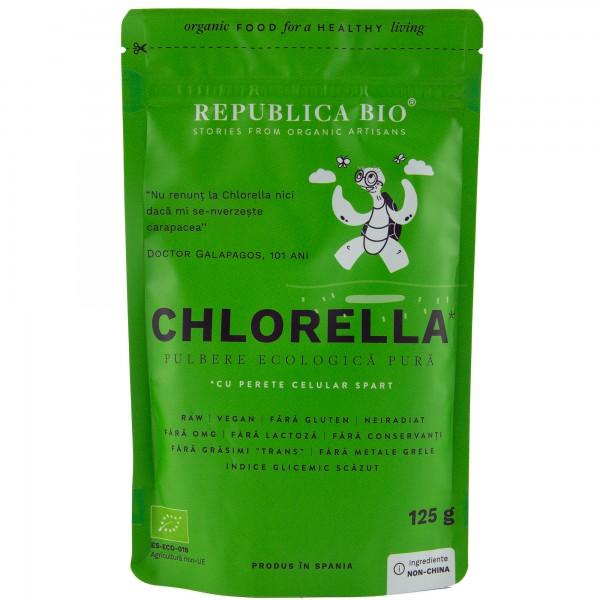 Chlorella pulbere pura bio
