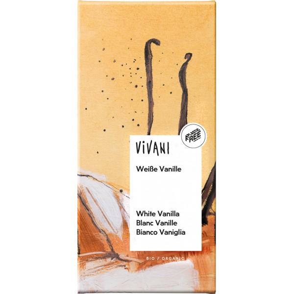 Ciocolata alba cu vanilie bio