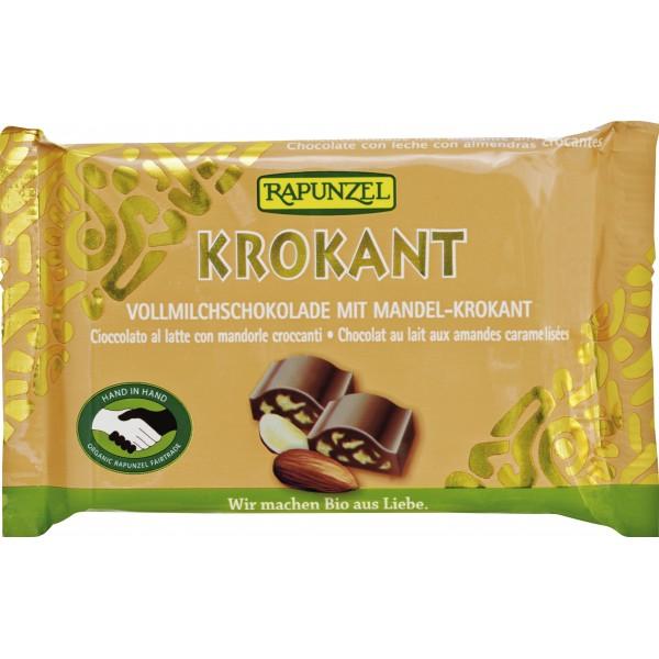 Ciocolata Cristalino cu Migdale crocante bio