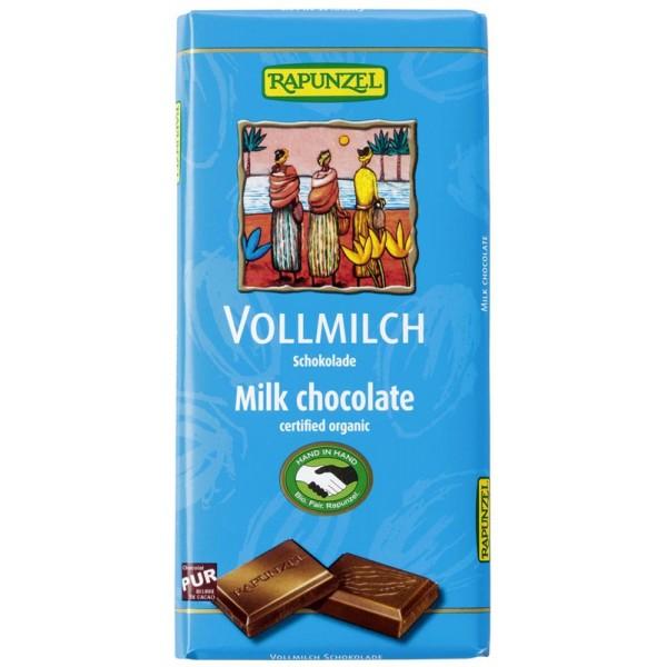 Ciocolata din Lapte integral bio