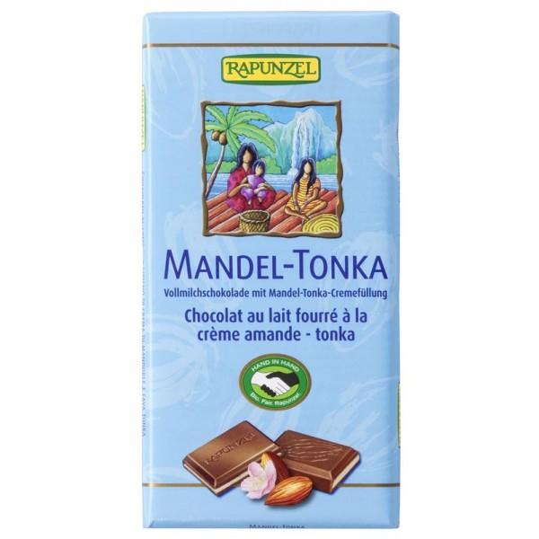 Ciocolata cu crema de Migdale si Tonka bio
