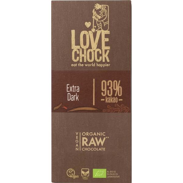 Ciocolata RAW VEGANA cu 93% cacao bio