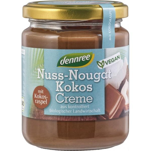 Crema nuss-nougat cu cocos VEGANA bio