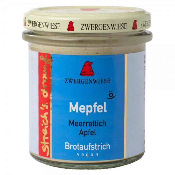 Crema tartinabila vegetala Mepfel cu hrean si mar  FARA GLUTEN bio