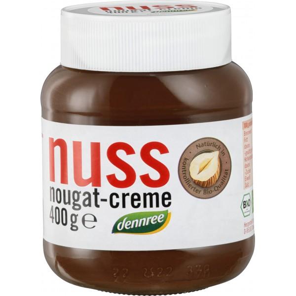 Crema de ciocolata cu alune Nuss-Nougat bio