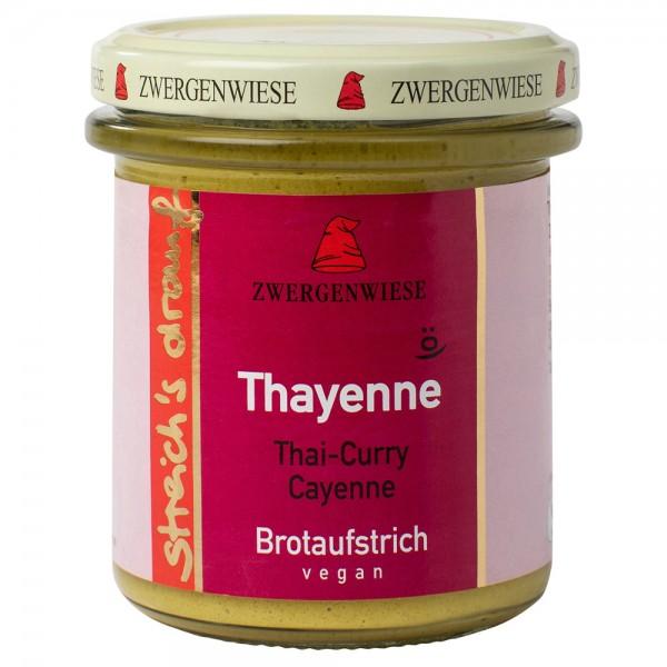 Crema tartinabila vegetala Thayenne cu Thai curry si piper de cayenne bio