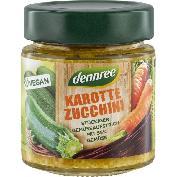 Crema tartinabila cu morcovi si zucchini bio
