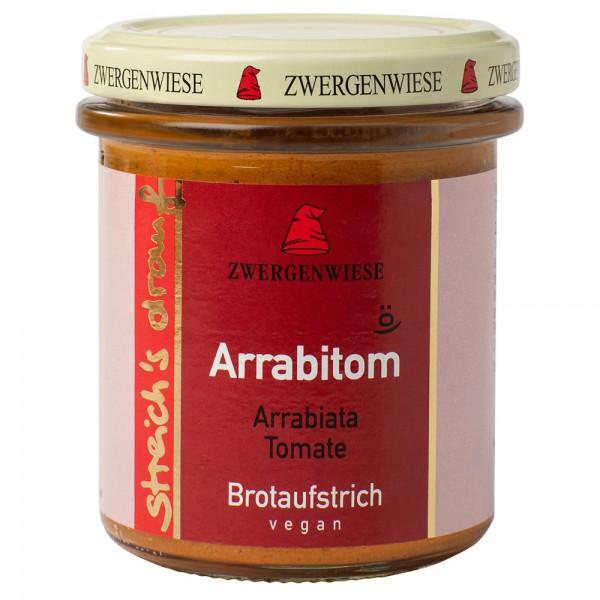Crema tartinabila vegetala Arrabitom cu arrabiata si tomate FARA GLUTEN bio