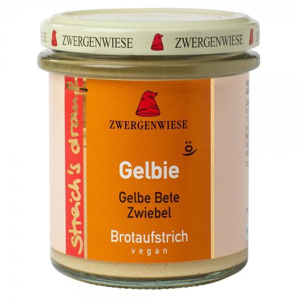 Crema tartinabila vegetala Gelbie cu sfecla galbena si ceapa bio