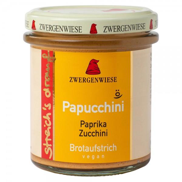 Crema tartinabila vegetala Papucchini cu ardei si zucchini FARA GLUTEN bio