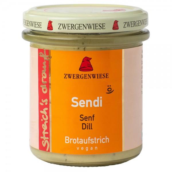 Crema tartinabila vegetala Sendi cu mustar si marar FARA GLUTEN bio