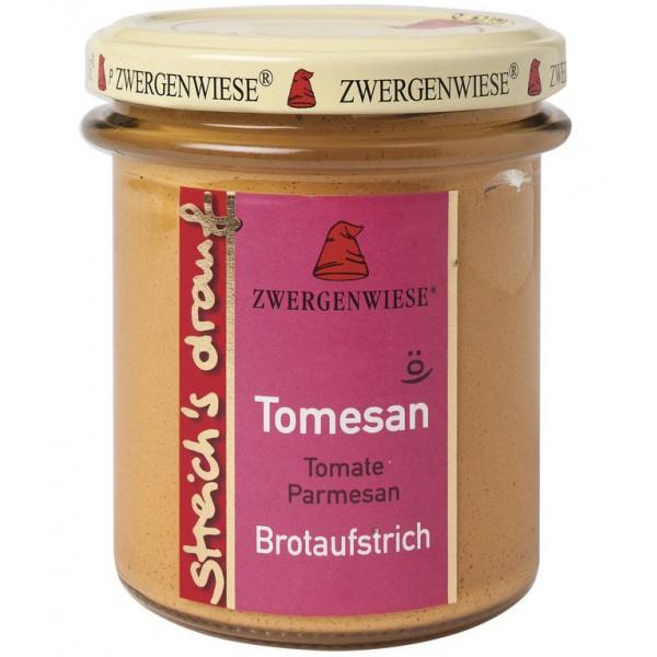 Crema tartinabila vegetala Tomesan cu tomate si parmezan FARA GLUTEN bio