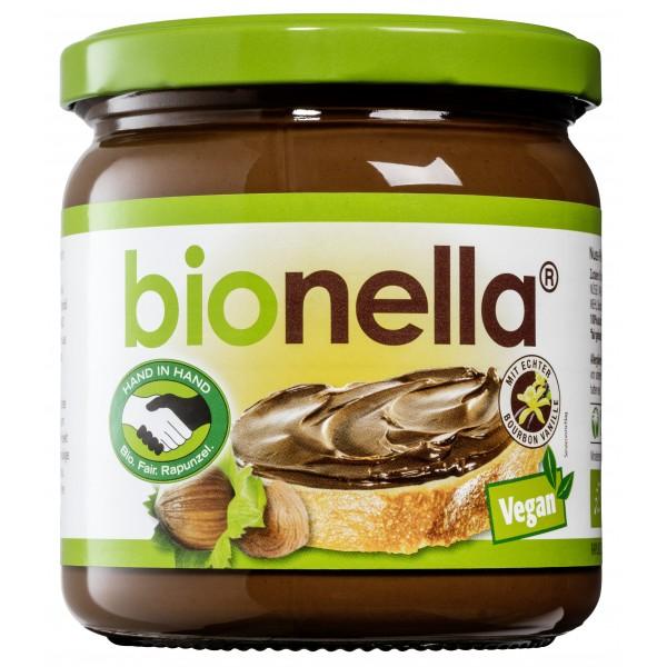 Crema vegana de alune cu ciocolata Bionella bio