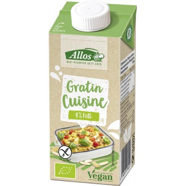 Crema vegetala pentru gratinat FARA GLUTEN bio