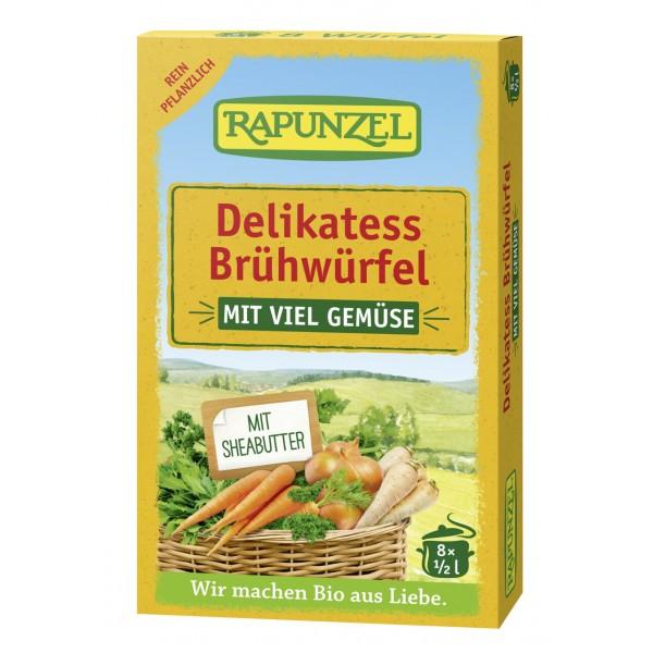 Cuburi de supă de legume delikatess 8buc bio