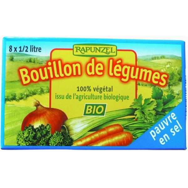 Cuburi de Supa de legume cu putina sare 8 buc bio