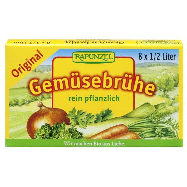 Cuburi de Supa de legume Orginal 8 buc bio